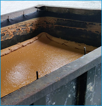 dewatering box filter in standard sizes and custom capabilities for drilling mud and frac sand wastewater and sludge