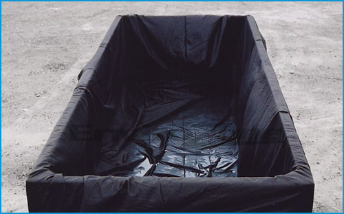 dewatering box liners for municipalities dewatering wastewater and septic sludge